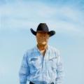"""Blue cowboy portrait of Marc - 20 x 24"""" oil on canvas -  $1700.00"""