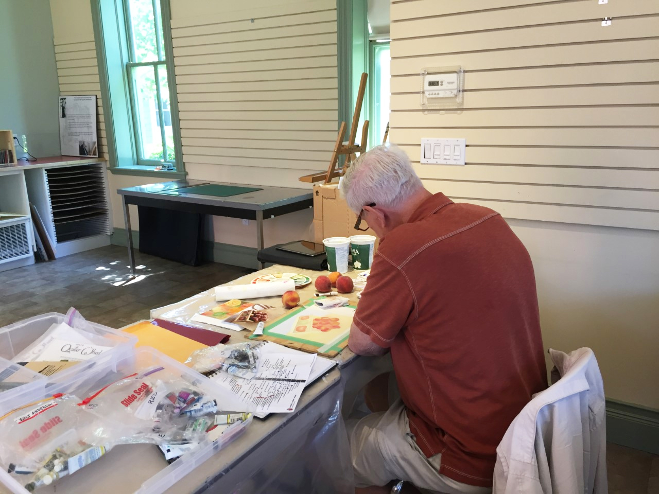 Practice makes perfect...Intermediate WC Southampton Art School 2019
