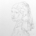 Girl with a Pearl Earring #1