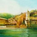 """Cinque Terre - Watercolour  10 x 14"""" - $800.00"""
