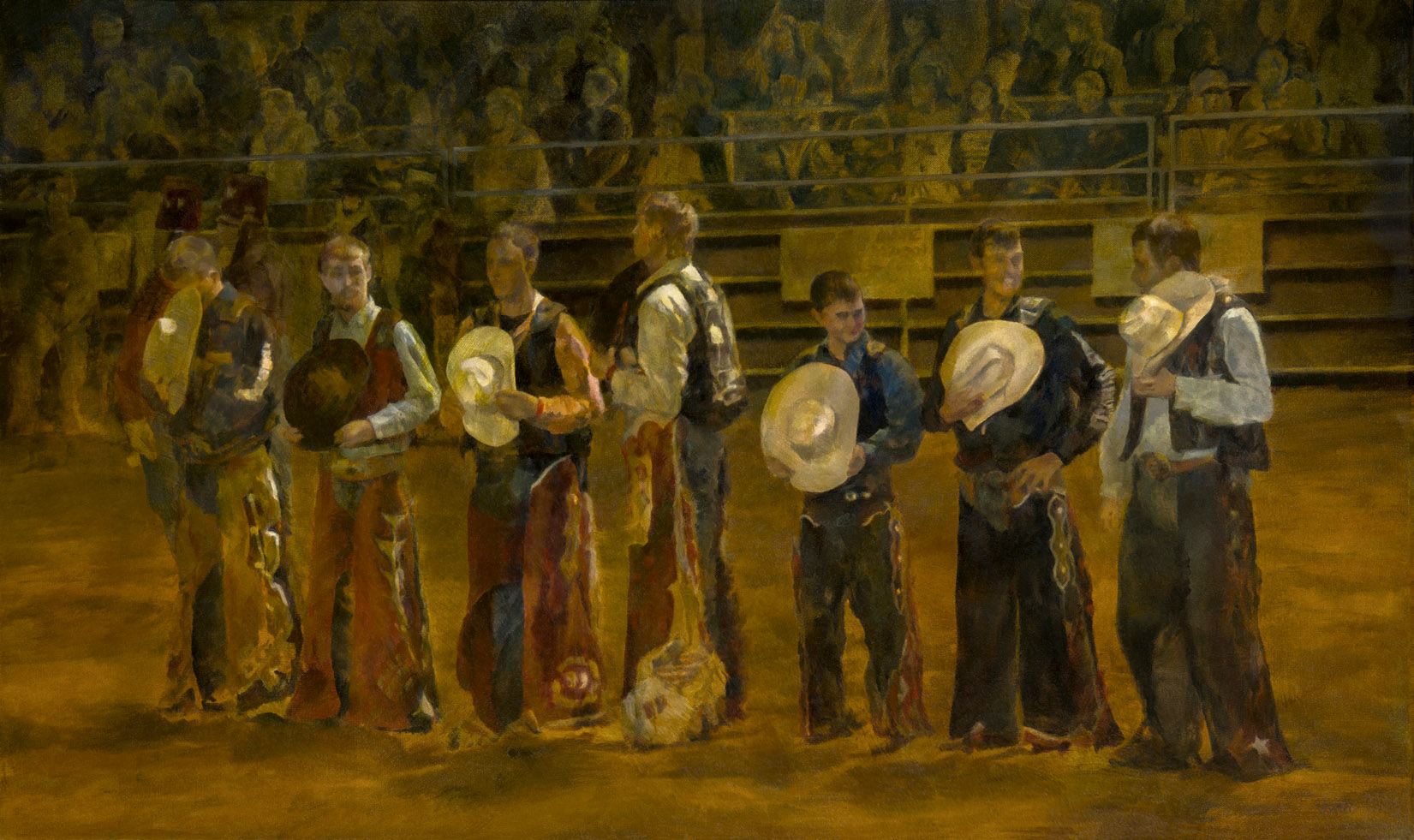 Rodeo Kings - 24 x 40\