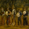 """Rodeo Kings - 24 x 40"""" oil on canvas SOLD"""